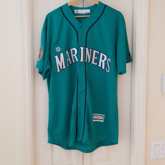 low priced be91a 158c8 KEN GRIFFEY JR SEATTLE MARINERS THROWBACK JERSEY